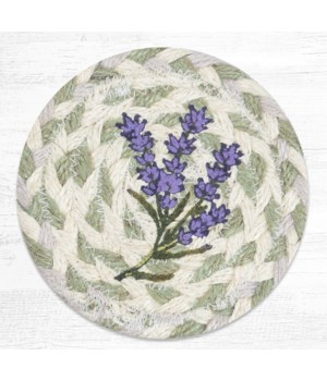 IC-611 Lavender Printed Coaster 5 in.x5 in.