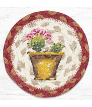 IC-617 Cactus Printed Coaster 5 in.x5 in.
