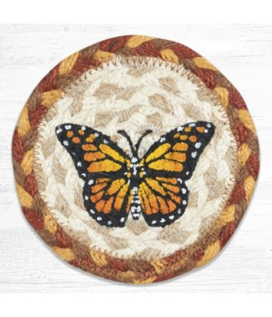 IC-630 Monarch Printed Coaster 5 in.x5 in.