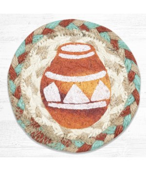 IC-782 Pottery Printed Coaster 5 in.x5 in.