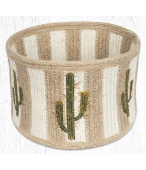 RNB-01 Saguaro Natural Rope Braided Basket 9 in.x7 in.