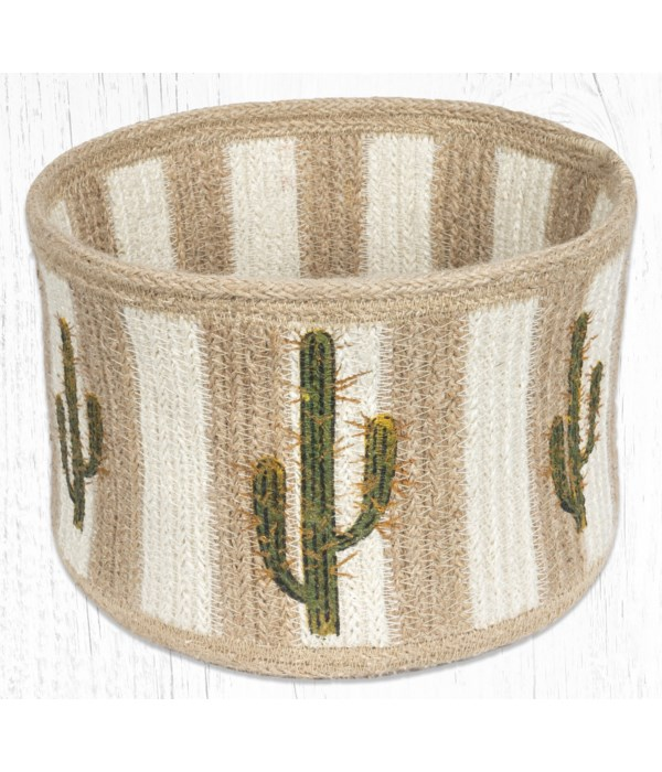 RNB-01 Saguaro Natural Rope Braided Basket 9 in.x7 in.