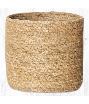 SGB-01 Natural Sedge Grass Basket 5 x 5  x 0.17 in.