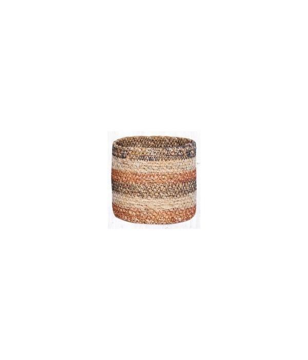 SGB-02 Honeycomb Sedge Grass Basket 5 x 5  x 0.17 in.