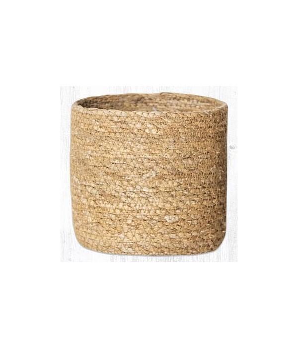 SGB-01 Natural Sedge Grass Basket 5.5 in.x5.5 in.x0.17 in.
