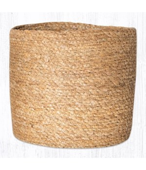 SGB-01 Natural Sedge Grass Basket 7.5 in.x8 in.x0.17 in.