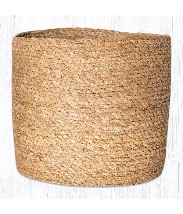 SGB-01 Natural Sedge Grass Basket 7.5 in.x8 in.x0.17 in.