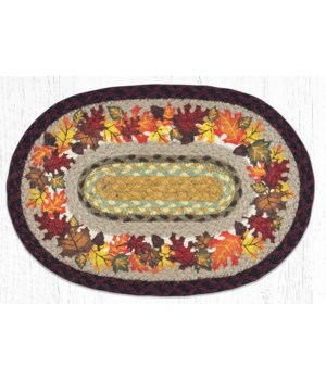 """PM-OP-395 Autumn Oval Placemat 13""""x19"""""""