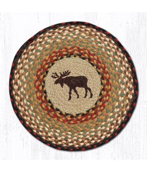 "CH-19 Moose Round Chair Pad 15.5""x15.5"""