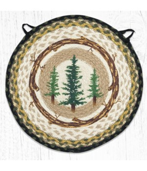 "CH-116 Tall Timbers Round Chair Pad 15.5""x15.5"""