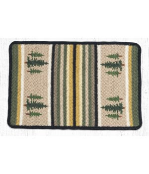 V-116 Tall Timbers Oblong Printed Placemat 13 in.x19 in.