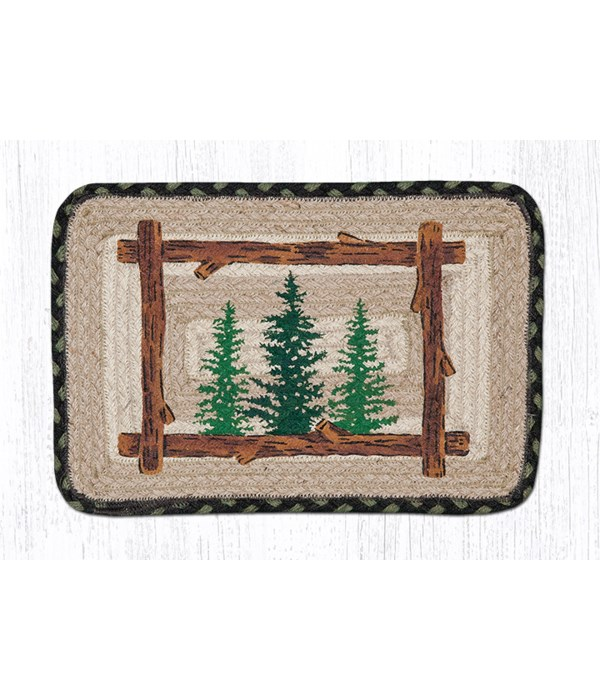 """PP-116 Tall Timbers Oblong Printed Swatch 10""""x15"""""""