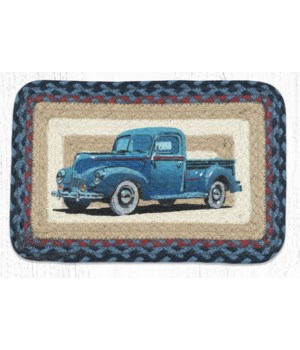 PP-362 Blue Truck Oblong Printed Swatch 10 x 15 in.