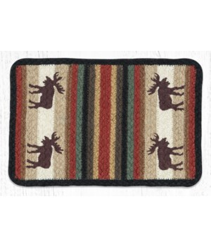 V-19 Moose Oblong Printed Swatch 10 x 15 in.