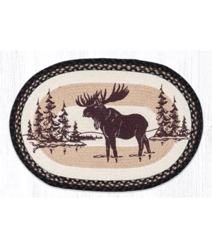 OP-313 Moose Silhouette Oval Patch 20 x 30 x 0.17 in.