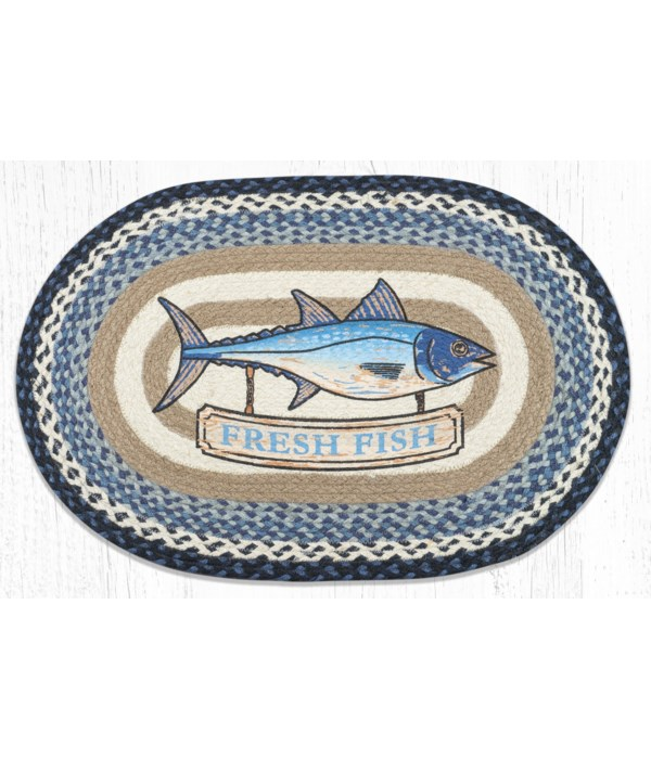 """OP-443 Fresh Fish Oval Patch 20""""x30"""""""
