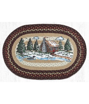"""OP-604 Loon Lake Oval Patch 20""""x30"""""""