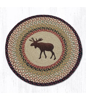 """RP-19 Moose Round Patch 27""""x27"""""""