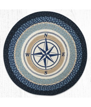 """RP-443 Compass Rose Round Patch 27""""x27"""""""