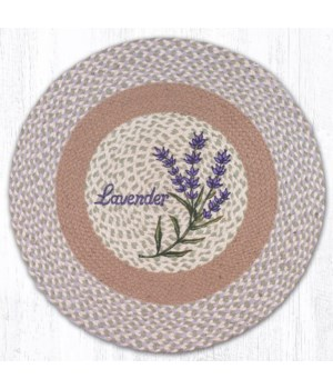 """RP-611 Lavender Round Patch 27""""x27"""""""