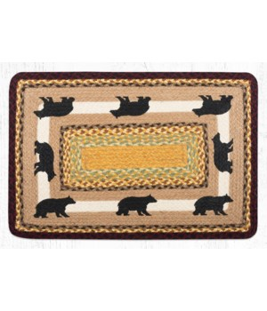 PP-395 Cabin Bear 2 Oblong Patch 20 in.x30 in.