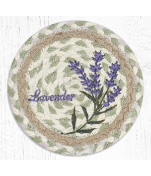 LC-611 Lavender Round Large Coaster 7 in.x7 in.