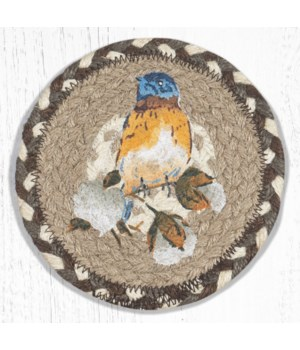 LC-616 Cotton Wreath Round Large Coaster 7 in.x7 in.
