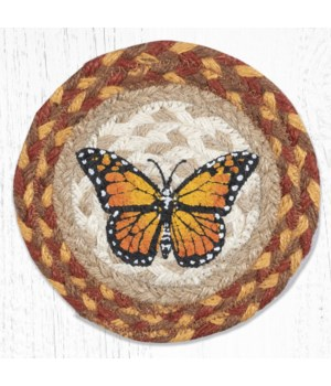 LC-630 Monarch Round Large Coaster 7 in.x7 in.