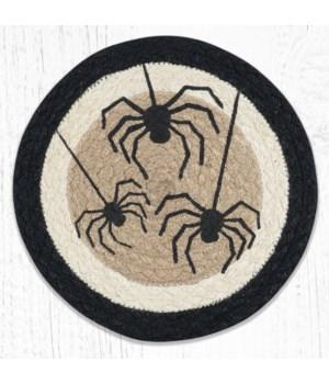 MSPR-01 Spider Printed Round Trivet 10 in.x10 in.