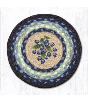 MSPR-312 Blueberry Printed Round Trivet 10 in.x10 in.