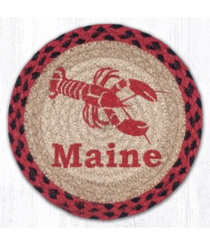 "MSPR-396 Lobster Maine Printed Round Trivet 10""x10"""
