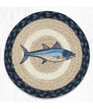 MSPR-443 Fresh Fish Printed Round Trivet 10 in.x10 in.
