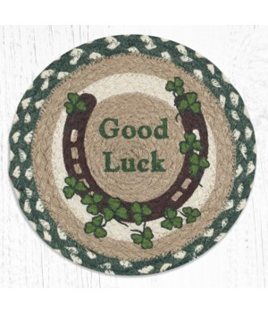 MSPR-605 Celtic Luck Printed Round Trivet 10 in.x10 in.