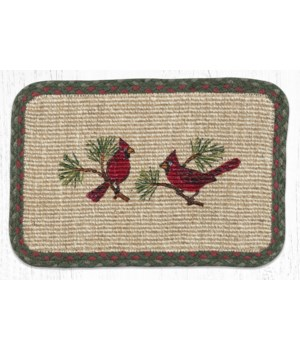 "WW-25 Cardinal Wicker Weave Placemat 13""x19"""