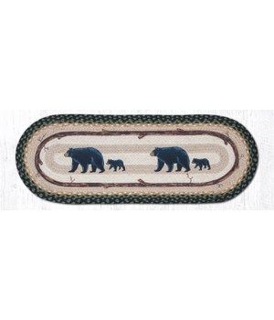 OP-116 Bear Timbers Oval Patch 2'x6'x0.17 in.