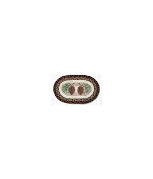 OP-81 Pinecone Oval Patch 27 x 45 x 0.17 in.