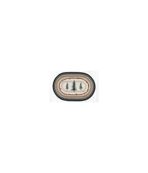 """OP-116 Bear Timbers Oval Patch 27""""x45"""""""