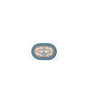 OP-443 Anchor Oval Patch 27 x 45 x 0.17 in.