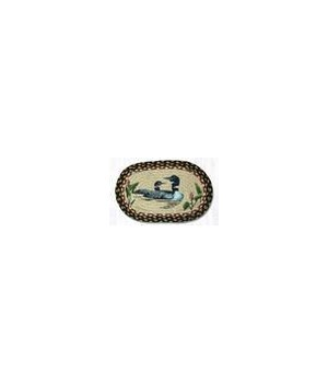 OP-313 Loons Oval Patch 5'x8'x0.17 in.