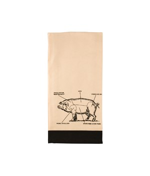 PIG KITCHEN TOWEL