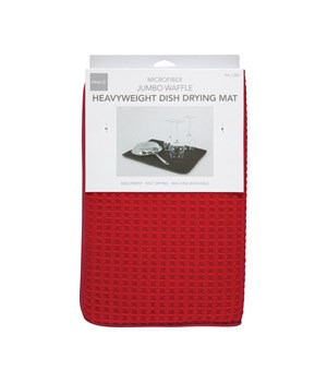 DISH DRYING MAT RED (CD)