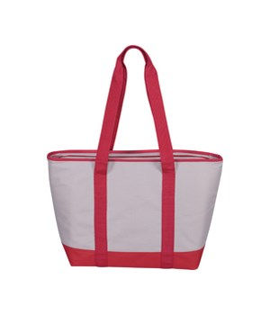 INSULATED TOTE RED