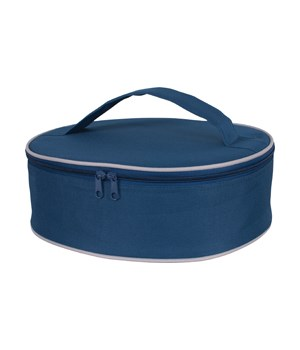 INSULATED PIE CARRIER NAVY