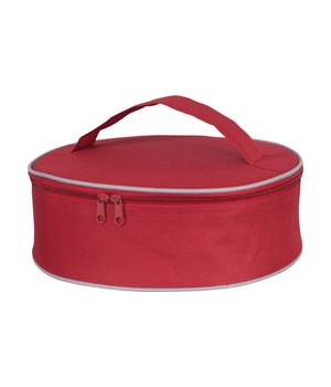 INSULATED PIE CARRIER RED