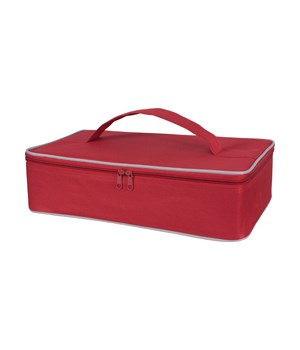 CASSEROLE CARRIER RED