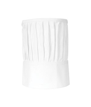 CHEF TOQUE ADULT WHITE