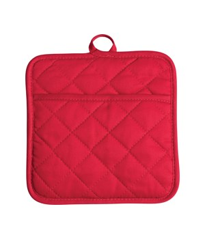 POT HOLDER RED