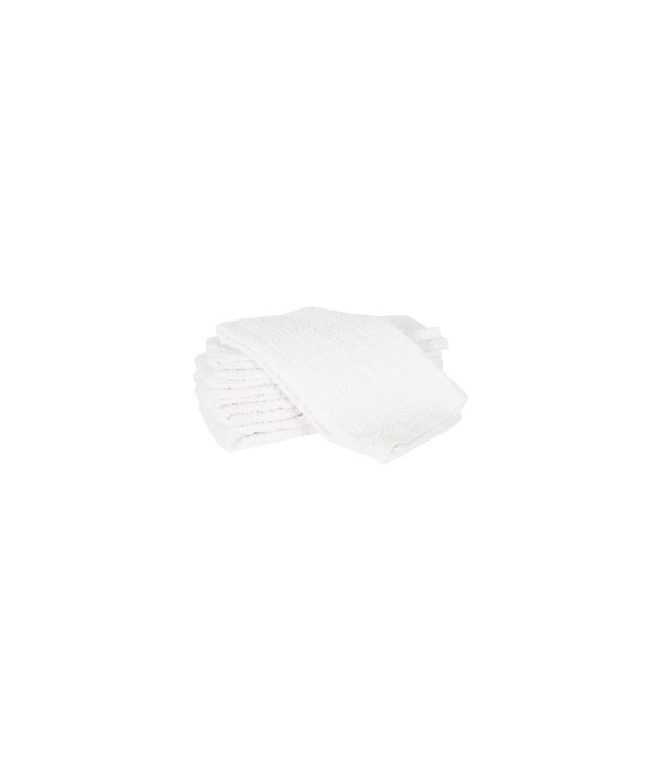 BARMOP KITCHEN TOWEL WHT(ST/6)