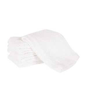 BARMOP DISH CLOTH WHITE (ST/6)