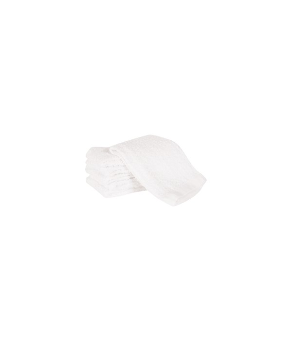 BARMOP DISH CLOTH WHITE (ST/6)